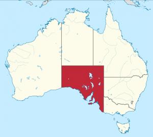 Australia-Meridional---Mapa
