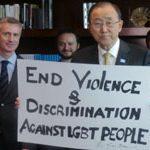 Ban Ki-moon se despide de su cargo como el secretario general de la ONU más inclusivo de la historia en materia LGTB