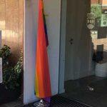 La bandera arcoíris tampoco ondea este año en la fachada del Ayuntamiento de Alcorcón
