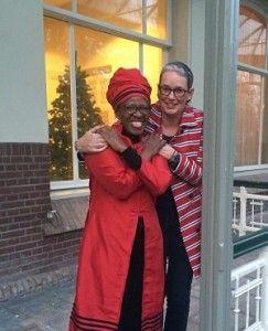 Canon Mpho Tutu y Marceline Furth