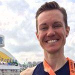Chris Mosier, el primer atleta trans que compite bajo el nuevo reglamento del COI, debuta con éxito en España