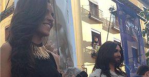 Conchita Wurst y Ruth Lorenzo en Chueca
