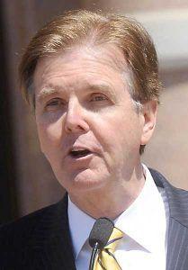 Dan Patrick, vicegobernador de Texas