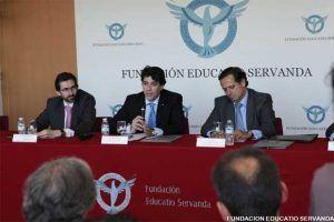 David Perez en la Fundacion Educatio Servanda