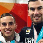 «Out and proud»: Eric Radford y Adam Rippon, primeras medallas LGTB en Pyeongchang, se fotografian juntos y envían un mensaje de orgullo y visibilidad
