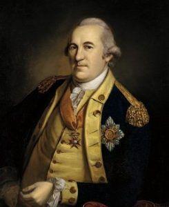 Friedrich Wilhelm von Steuben retrato