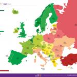 Clasificación anual sobre derechos LGTBI en Europa: inmovilismo y deterioro en varios países, aunque España sube al 6.º puesto por la sentencia del Constitucional sobre menores trans