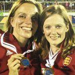 Kate y Helen se convierten en el primer matrimonio que consigue el oro jugando en el mismo equipo en unas Olimpiadas