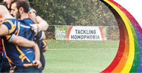 La Federacion de Rugby de Belgica contra la homofobia