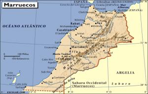 Mapa-de-Marruecos
