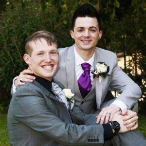 Marc y Alan Steffan-Cowell, primer matrimonio en isla de Man