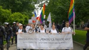 Marcha del Orgullo de Chisinau (Moldavia) 2015