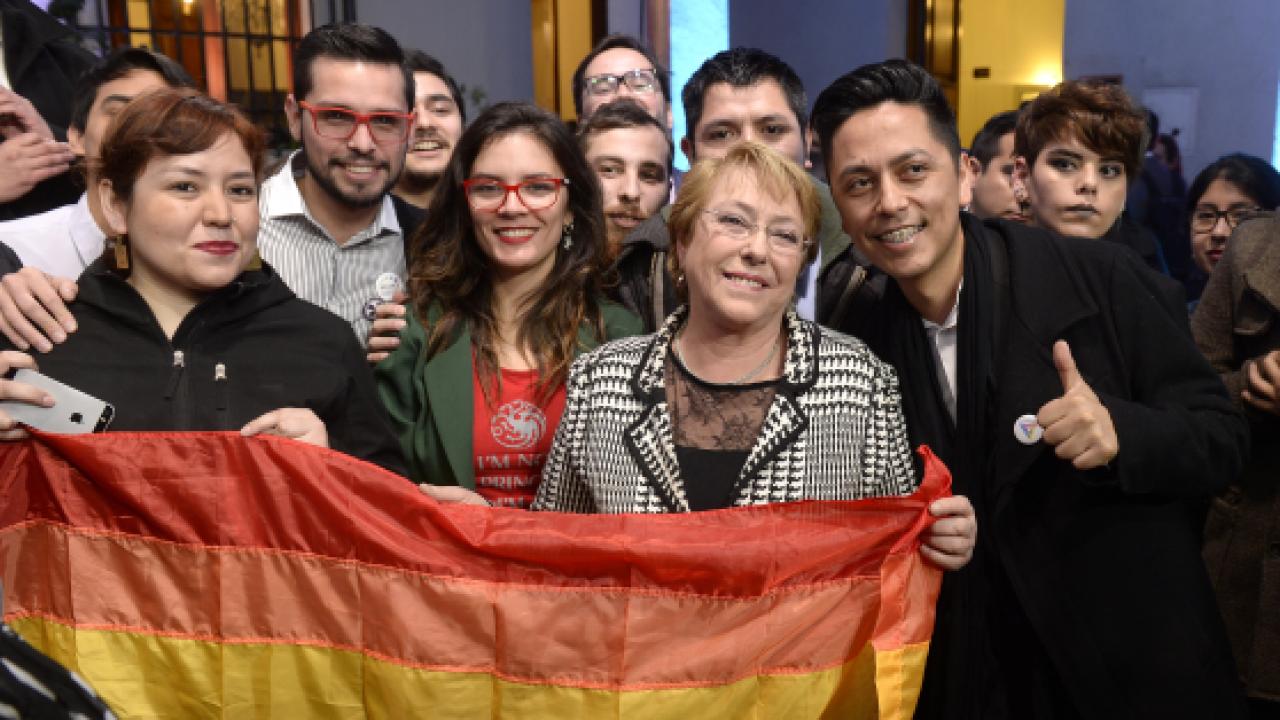 Bachelet presenta un proyecto de ley de matrimonio igualitario GEN MAGAZINE nueva constitución