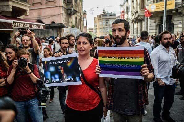 Orgullo Estambul 2016 - Orlando