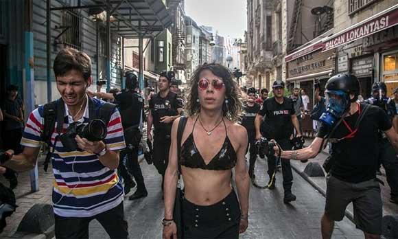 Orgullo Estambul 2016 - Represion