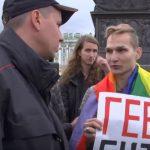 Once  activistas detenidos por intentar organizar un Orgullo LGTBI en San Petersburgo