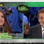 Rajoy se niega a reconocer como un error la presentación del recurso del PP contra el matrimonio igualitario