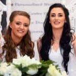 Robyn y Sharni, primera pareja del mismo sexo que contrae matrimonio en Irlanda del Norte