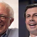 Bernie Sanders y Pete Buttigieg encabezan las primarias demócratas tras los dos primeros asaltos