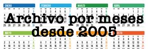 Archivo de noticias LGTB publicadas en dosmanzanas por meses desde 2005