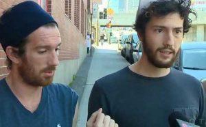 Simon y Sebastien - Pareja gay agredida en Montreal