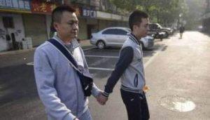 Sun Wenlin y pareja