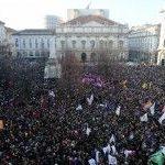 Manifestaciones multitudinarias en Italia en apoyo de las uniones civiles para parejas del mismo sexo
