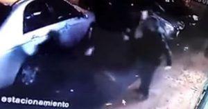 agresion homofoba Chile grabada por camara seguridad