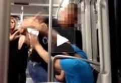 agresión racista Barcelona
