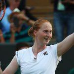 La tenista belga Alison Van Uytvanck, que salió del armario en marzo, se sincera en Wimbledon: «No tenemos de qué avergonzarnos»