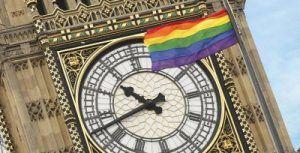 bandera arcoíris Parlamento británico