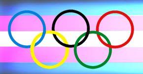 bandera olimpica trans