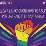 La agresión a una pareja gay en una piscina de Santa Pola, nuevo incidente por LGTBfobia en la Comunidad Valenciana