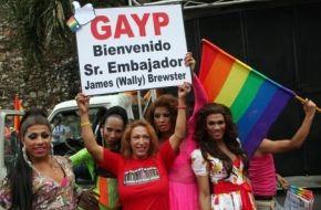 bienvenida embajador Brewster República Dominicana