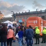 El bus tránsfobo de HazteOír llega a Colombia, enfrentando a ultraconservadores y a partidarios de los derechos LGTB en Bogotá