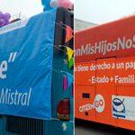 """La diversidad LGTB que promueve el MOVILH en Chile se impone al """"bus del odio"""" de HazteOír"""
