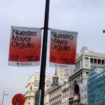 El nuevo Ayuntamiento de Madrid (controlado por PP-Ciudadanos-Vox) mutila la campaña promocional del Orgullo heredada de Carmena y elimina las banderolas con mensaje activista