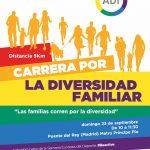 La Agrupación Deportiva Ibérica LGTBI+ organiza en Madrid la I Carrera por la Diversidad Familiar