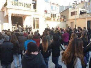 concentración Ayuntamiento de Rubí Alan