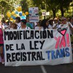 La Manifestación Estatal del Orgullo LGTBI 2018, con dos ministros en su cabecera y sin el PP, alza su voz por los derechos trans