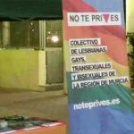 El colectivo LGTB murciano No Te Prives denuncia una agresión a un voluntario menor de edad en Molina de Segura