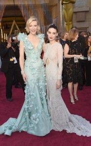Ctae Blanchett y Rooney Mara en los Oscars 2016