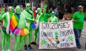 grupo homófobo en Orgullo Toronto