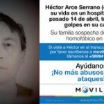 Chile: después de tres semanas de agonía, fallece el hombre que fue víctima de una posible agresión homófoba el 14 de abril