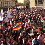 La ciudadanía LGBTI de Colombia marcha por el Estado laico ante la arremetida fundamentalista contra sus derechos