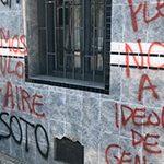 La ultraderecha chilena vandaliza la sede del MOVILH mientras el activismo LGTBI celebraba la entrada en vigor de la ley de identidad de género