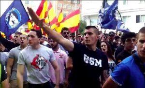 neonazis en Madrid