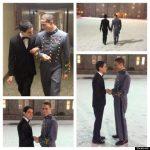Las fotos de un cadete de West Point acudiendo a un baile de la mano de su novio dan la vuelta al mundo