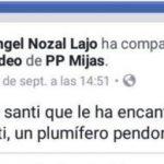 «Plumífero pendoncete»: un periodista denuncia públicamente insultos homófobos por parte del presidente del PP de Mijas