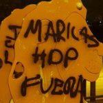 Aparecen pintadas homófobas con amenazas contra el alcalde pedáneo de Algezares, en Murcia